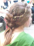 Another elegant hairstyle!